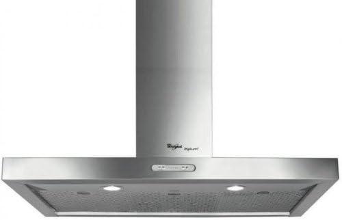 Whirlpool AKR 799/IXL - Campana (Acero inoxidable, 3 piezas, 898 mm, 500 mm, 730 mm, Halógeno): Amazon.es: Hogar