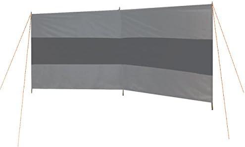 Bo-Camp BC 2-compartments Windschutz – GRAU/ANTHRAZIT,