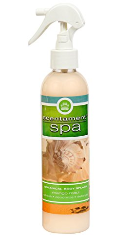 Best Shot Pet Scentament Spa Mango Maui Seasonal Body Splash Spray, 8 oz Seasonal Scent