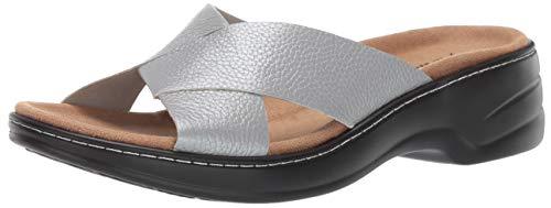 Trotters Women's NOVA Sandal Grey 10.0 W US