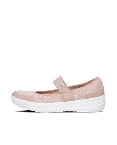 Janes 570 Fitflop Donna Neon Uberknit White Mary Jane Urban Multicolore Blush q5gxB5Ow