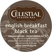 CELESTIAL SEASONINGS ENGLISH BREAKFAST BLACK TEA 120 K CUP PACKS by Celestial Seasonings