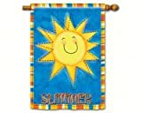 Cheap Magnet Works MAIL91084 Summer Sun Standard Flag Double Sided