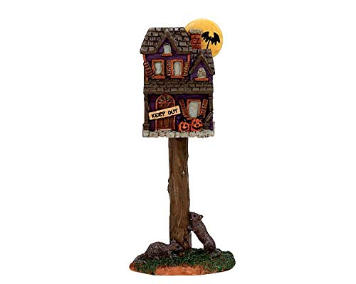 Lemax Spooky Town Collection Full Moon Birdhouse  #74216