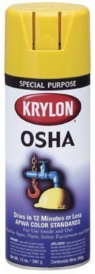 Krylon?- OSHA Paints Popsicle Orange 16Oz(Safety Orange) - Sold as 6 Can by Krylon Products