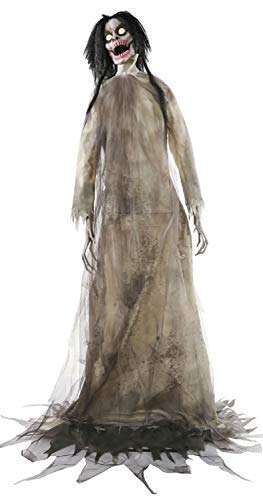 1.8m (6ft) Animated Twitching Banshee Hag Witch Lights