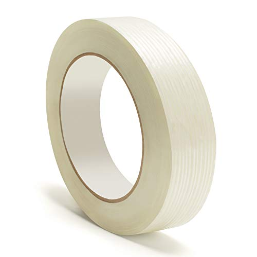 - Heavy Duty Packing Tape, Filament Reinforced Tape Rolls, 4.0 Mil Thick, Clear, 3/4 Inch x 60 Yards, 24 Pack