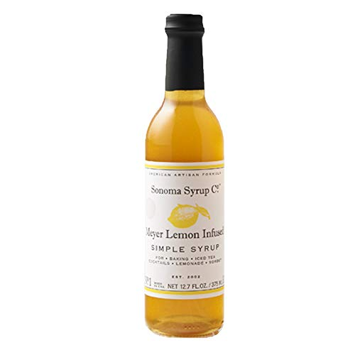 Flavored Simple Syrup - SONOMA SYRUP Meyer Lemon Simple Syrup, 375 ML