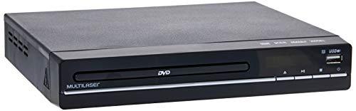 DVD Player 3 em 1 Multimídia Usb, Multilaser, SP252