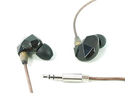 VSONIC VSD3 Black High Fidelity Professional Quality Stereo Inner-Ear Earphones