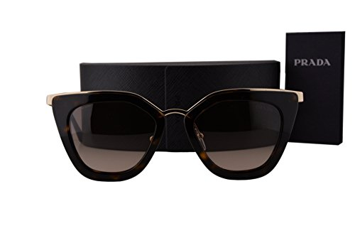 Prada PR53SS Sunglasses Havana w/Brown Gradient Lens 2AU3D0 SPR - Collection Prada Eyewear