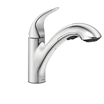 Moen 87039 One Handle Pullout Kitchen Faucet, Chrome