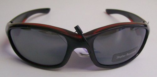 Black Sunglasses with Red - Tinting Sunglass