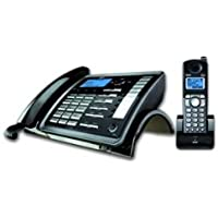 25255RE2 DECT6.0 2-Line Cord/Cordless Business System Caller ID Digital Answerer-RCA2-5255RE2