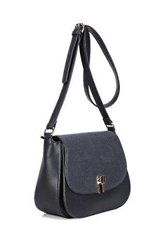 Mini Crossbody Tote Mujer De Estudiante Working Clutches Borse Girl Envelope Moderno Elegante Bandolera Regalo Idea Moda Angkorly retro Vendimia Marino Bag Azul qXxpgIwCn