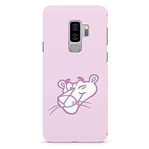 Loud Universe Classic Panther Logo Samsung S9 Plus Case Pink Panther Face Samsung S9 Plus Cover with 3d Wrap around Edges