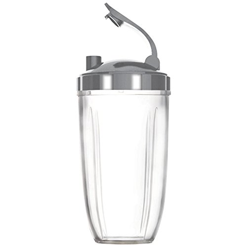 Sduck Replacement Parts for Nutribullet, Extra Large 32oz Cup & Flip Top Lid For Nutribullet 600w & 900w by Sduck