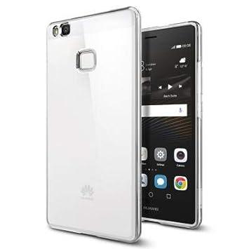 spigen Funda Huawei P9 Lite, [Silicona Transparente Transparente Adecuado, Carcasa para P9 Lite - Case Liquid Crystal (L05CS20298)