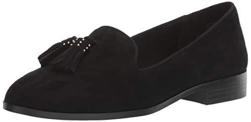Anne Klein Women's Duval Loafer Flat, Black,
