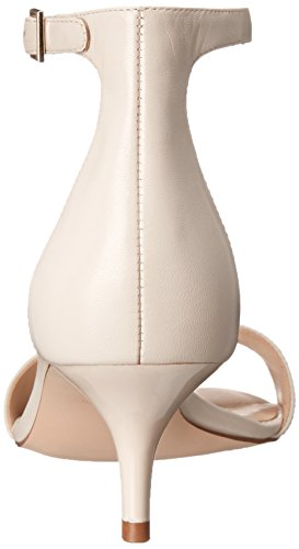 Dress Off Leisa Heeled White West Women's Leather Nine Sandal qpZx7XaUww