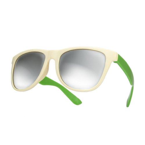 duo mirror o gafas 4sold gafas green nbsp;lente marca UV400 sol de de espejo New Unisex sol wHqfM6