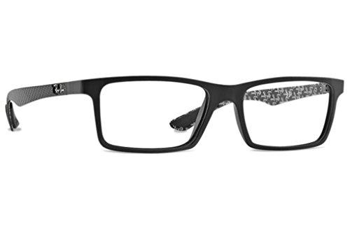 (Ray Ban RX8901 Carbon Fiber Eyeglasses-5263 Demi Gloss)