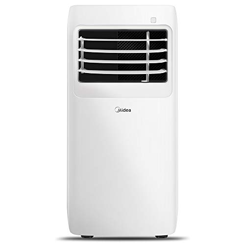 MIDEA MAP08R1CWT 3-in-1 Portable Air Conditioner, Dehumidifier, Fan, for Rooms up to 150 sq ft, 8,000 BTU (5,300 BTU…