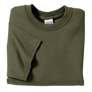Gildan Ultra Cotton 2000 Adult T-Shirt - Military Green, 5XL