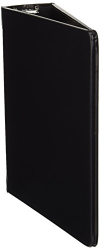 Wilson Jones Heavy Weight Casebound Round Ring Binder, 3 Ring, 2 Inch Capacity, 9.5 x 6 Inch Sheet Size, Black ()