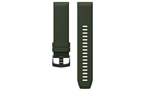 APEX Premium Multisport Ultra Comfortable and Durable Silicone Quick Release Watch Band (Forest Green, for APEX 46mm) ()