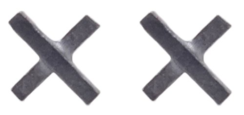 Sterling Silver Minimalist Cross Earrings product image