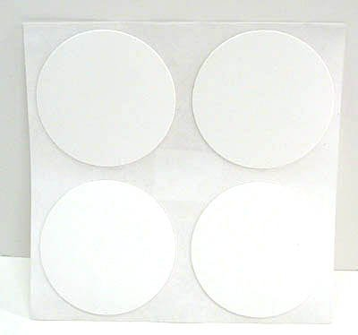 Fastcap Adhesive Cover Caps Fastpad Pvc White (1 Sheet) - Fastcap Adhesive Cover Caps