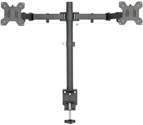 Vivo Dual Lcd Led Monitor Desk Mount Stand Heavy Duty