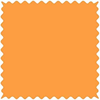product image for SheetWorld 100% Cotton Jersey Fabric by The Yard, Orange Sherbert, 36 x 60