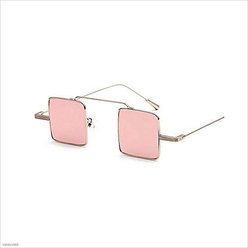 pour à de Pink Petites Joo lentilles Lunettes Silver Femmes Soleil Couleur carrées Iw0FFAq