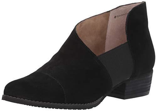 Blondo Women's IZZYS Shoe, Black Suede, 8.5 Medium US