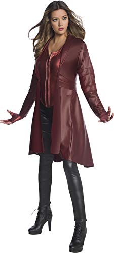 Wanda Halloween Costume (Rubie's Adult Costume Marvel Avengers: Endgame Scarlet Witch, As Shown,)