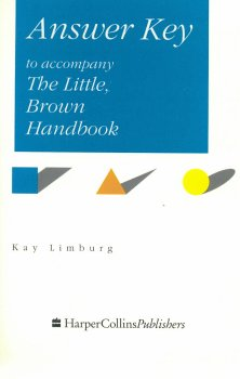 Answers to exercises in The Little, Brown handbook
