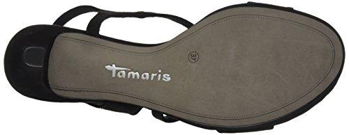 Tamaris 28318, Sandali con Tacco Donna, Nero (Black 001), 36 EU