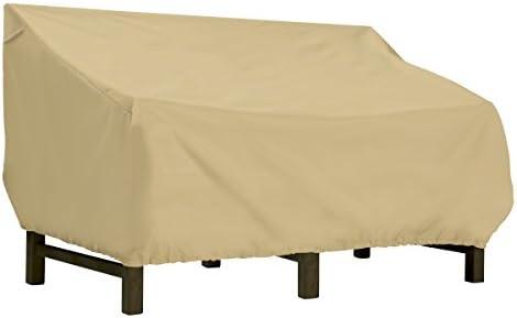 Classic Accessories Terrazzo Deep Seat Patio Loveseat Cover, Small