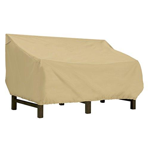 (Classic Accessories Terrazzo Deep Seat Patio Loveseat Cover, Large)