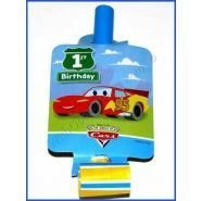 Disney Cars 1st Birthday Blowouts -