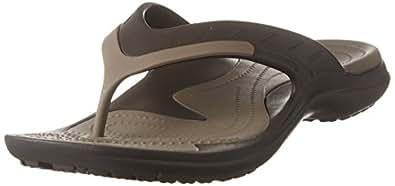 Crocs Unisex Adults Modi Sport Flip, Espresso/Walnut, M4W6