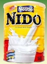 Nestle Nido Instant Milk Powder Europe 1800g (Case of 6) by Nestle