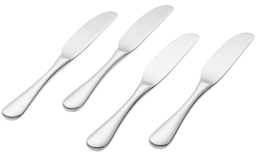 Ginkgo 25017-7 Firenze Butter Spreaders, Set of 4