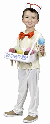 Princess Paradise Ice Cream Cone Salesman Costume, X-Small]()