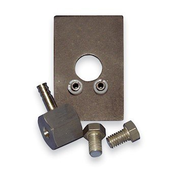Buck Scientific 6101 Potassium Bromide KBr Bolt Press, evacuable, for Infrared Spectroscopy by Buck Scientific