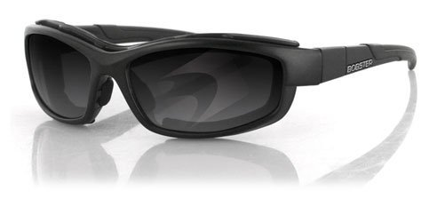 Bobster BRW101 XRH Sunglasses, Black Frame/2 Frame Fronts (Smoked and - Strap Mount Goggle Quick
