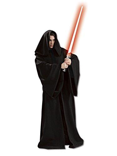 Star Wars Rubie's Men's Super Deluxe Adult Hooded Sith Robe, Multicolor, Standard -