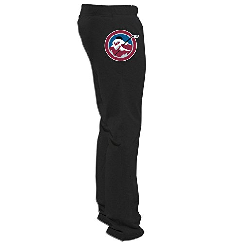 Yesher Men's Colorado Avalanche Long SweaterPants - Black - Sully Frame